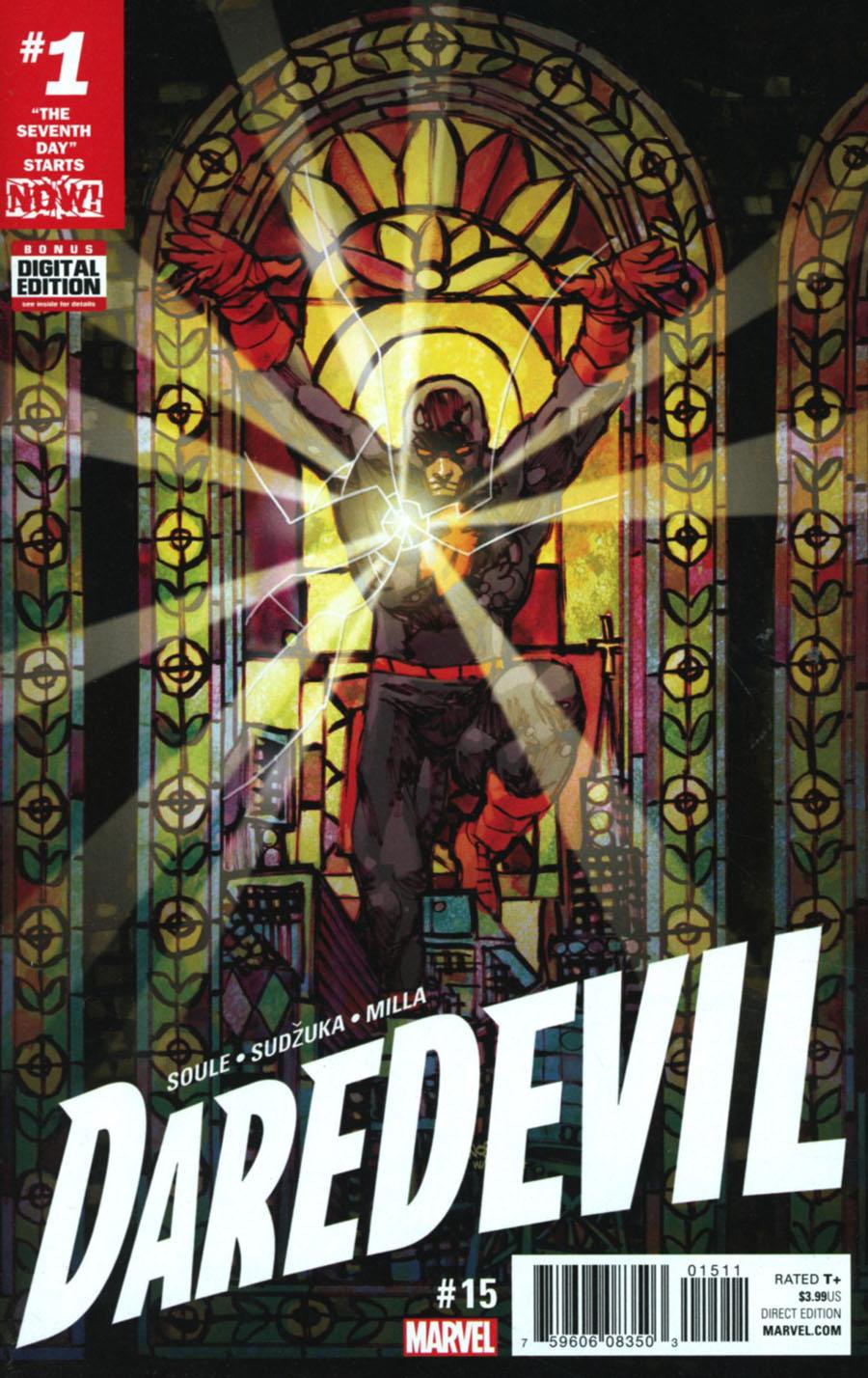 Daredevil Vol 5 #15 Cover A Regular Dan Panosian Cover (Marvel Now Tie-In)