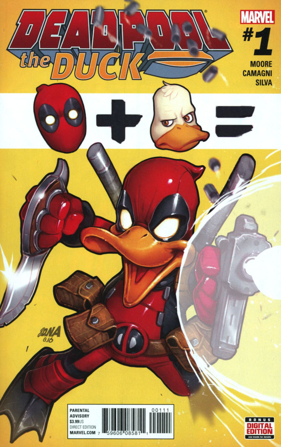 Deadpool The Duck #1 Cover A Regular David Nakayama Cover (Marvel Now Tie-In)