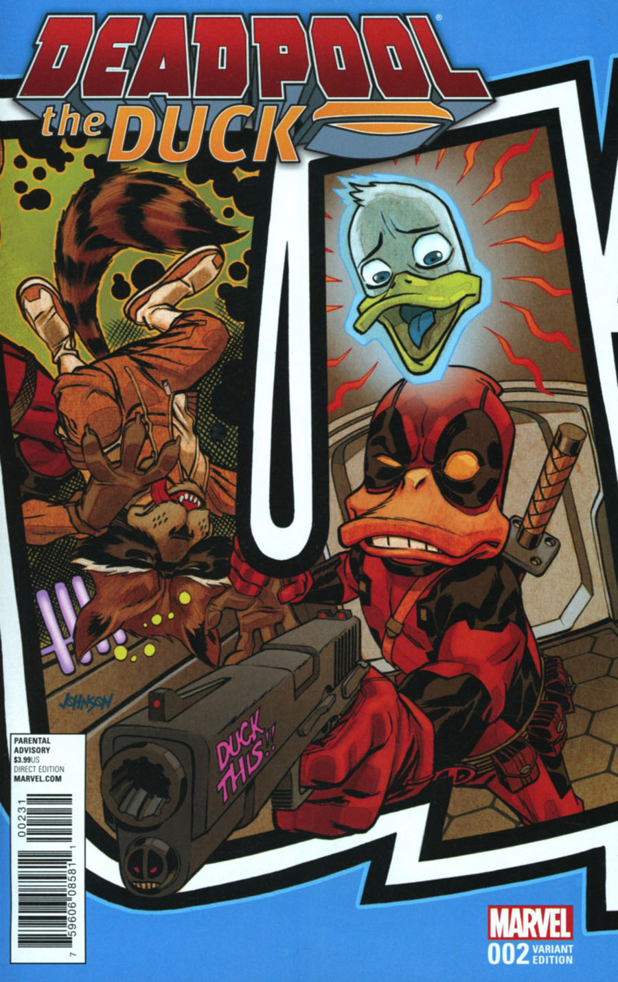 Deadpool The Duck #2 Cover B Variant Connecting Cover (Marvel Now Tie-In)