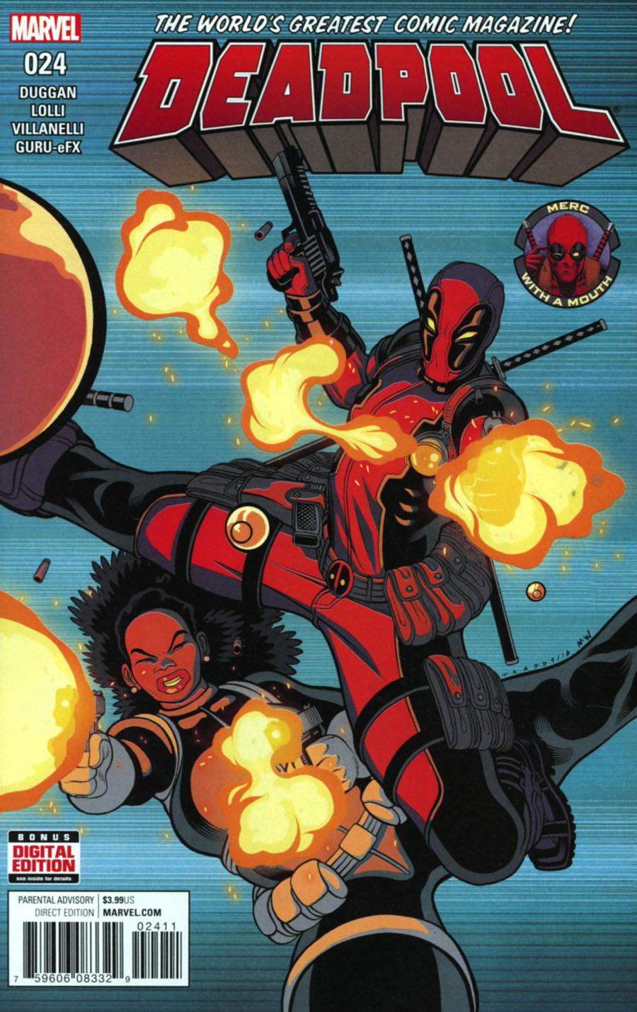 Deadpool Vol 5 #24 Cover A Regular Tradd Moore Cover