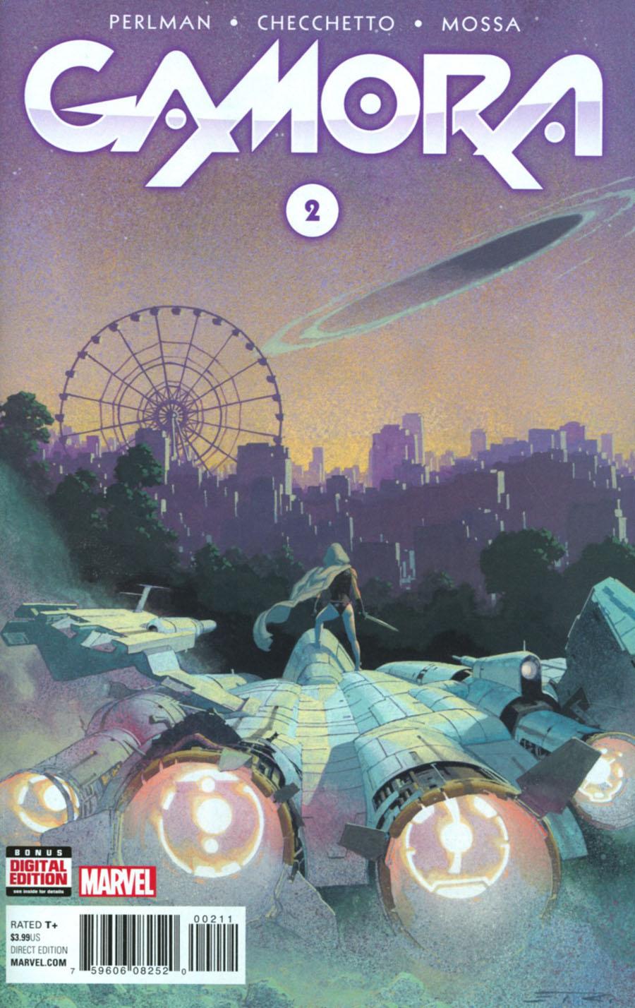 Gamora #2 Cover A Regular Esad Ribic Cover