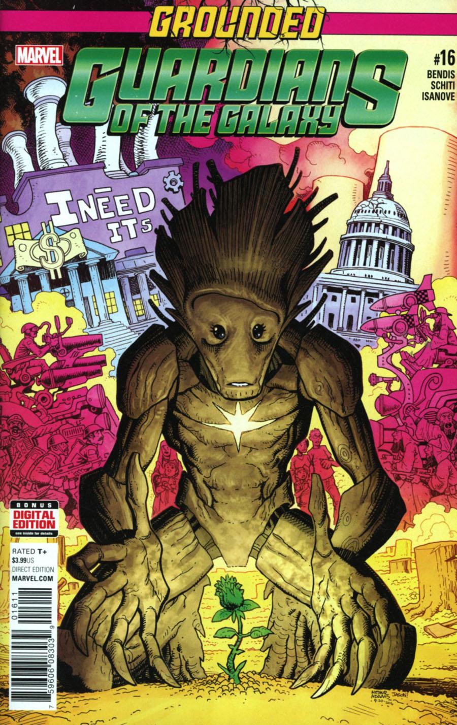Guardians Of The Galaxy Vol 4 #16 Cover A Regular Arthur Adams Cover