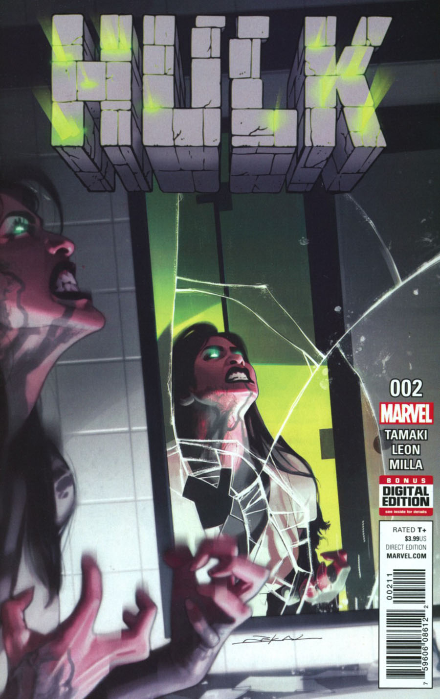Hulk Vol 4 #2 Cover A Regular Jeff Dekal Cover
