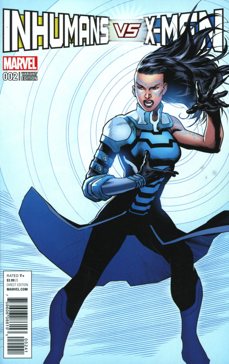 Inhumans vs X-Men #2 Cover C Variant Ardian Syaf Inhumans Cover