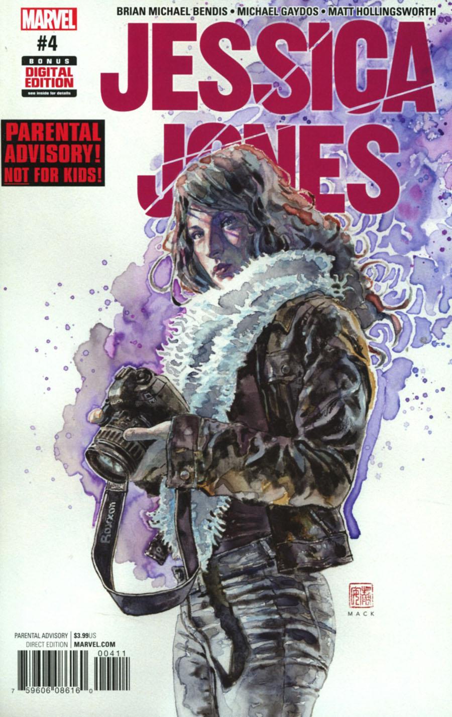 Jessica Jones #4 Cover A Regular David Mack Cover