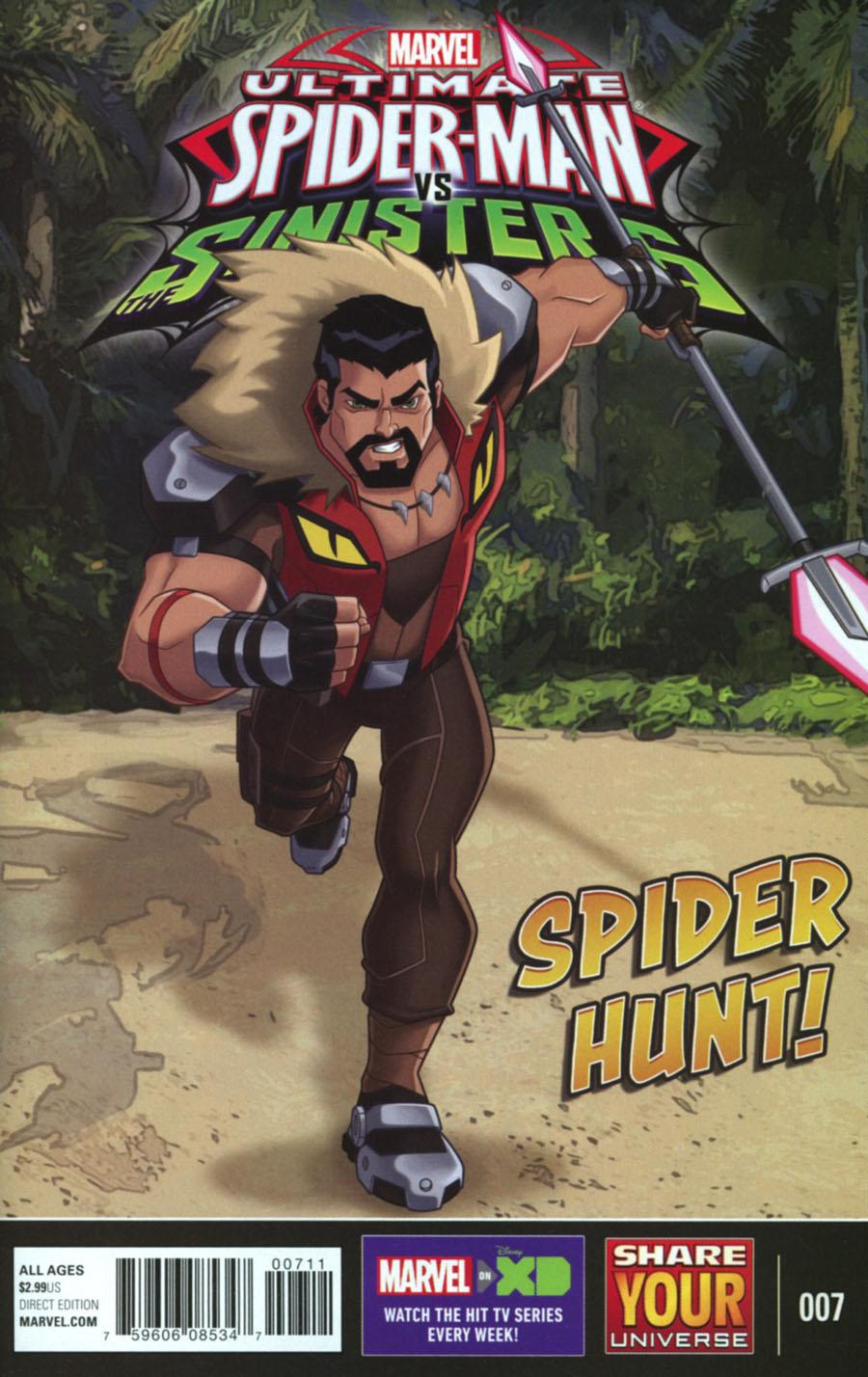 Marvel Universe Ultimate Spider-Man vs Sinister Six #7