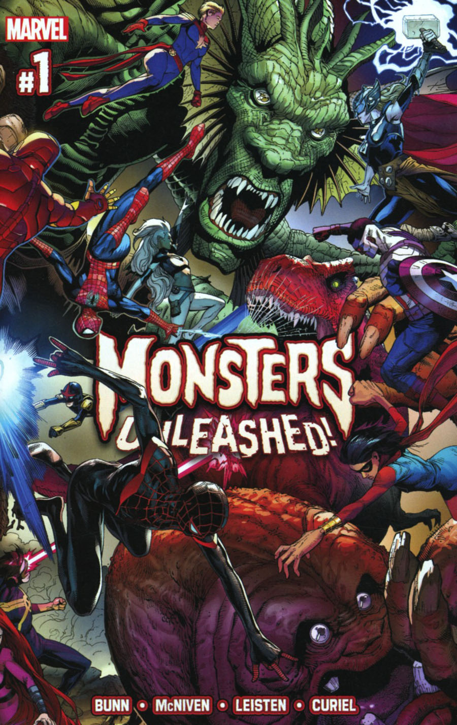 Monsters Unleashed #1 Cover A Regular Steve McNiven Cover