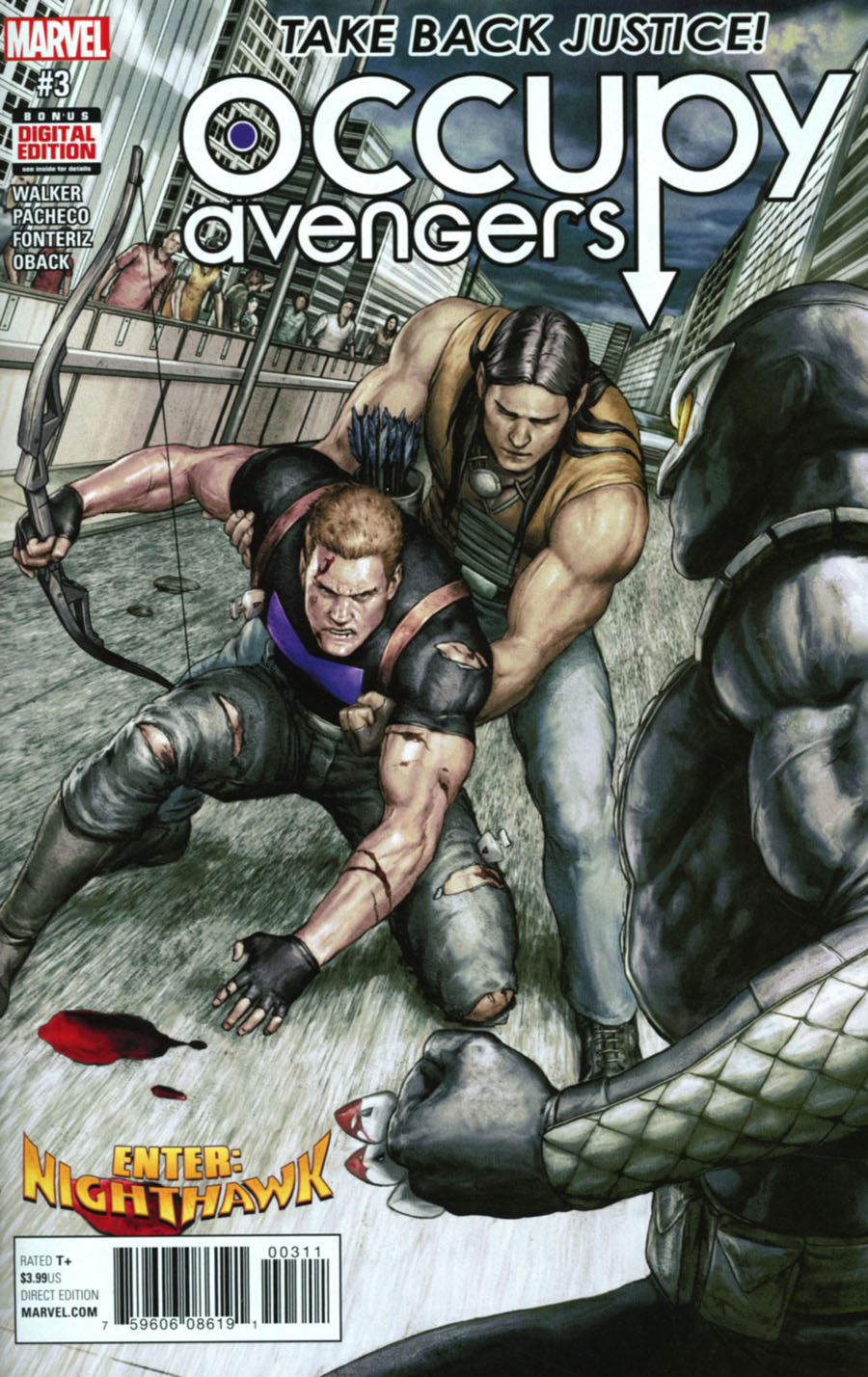 Occupy Avengers #3 Cover A Regular Agustin Alession Cover
