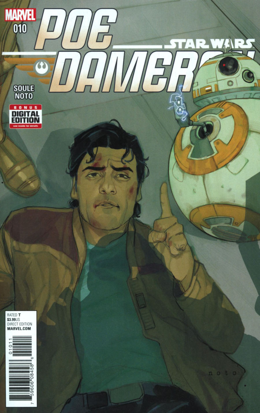 Star Wars Poe Dameron #10 Cover A Regular Phil Noto Cover