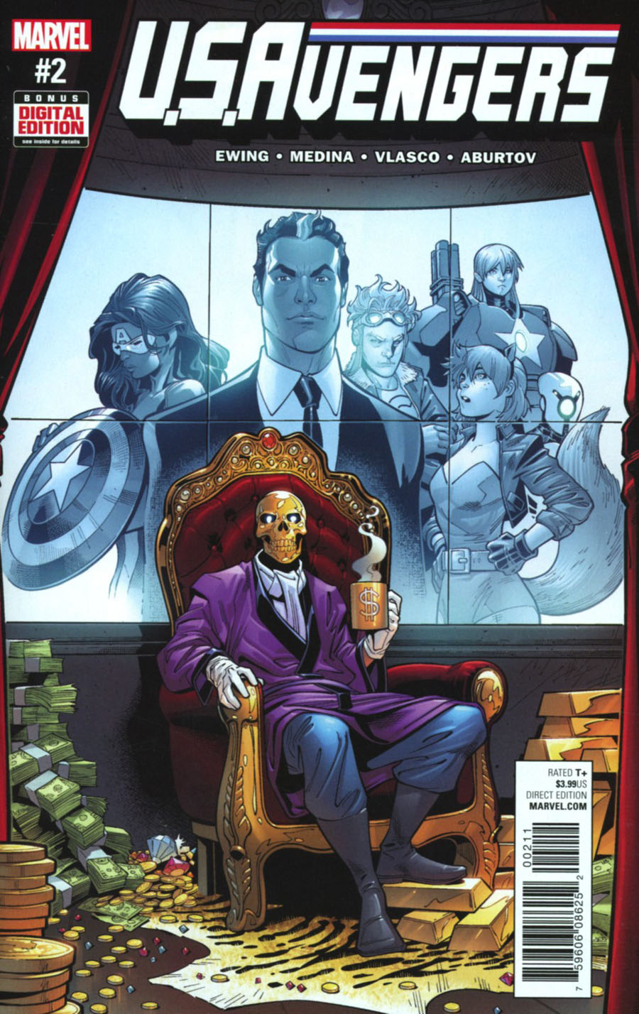 U.S.Avengers #2 Cover A Regular Paco Medina Cover (Marvel Now Tie-In)