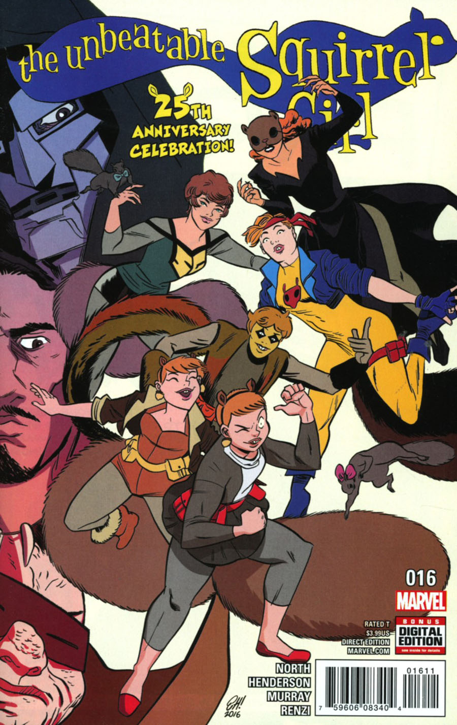 Unbeatable Squirrel Girl Vol 2 #16 Cover A Regular Erica Henderson Cover (Marvel Now Tie-In)