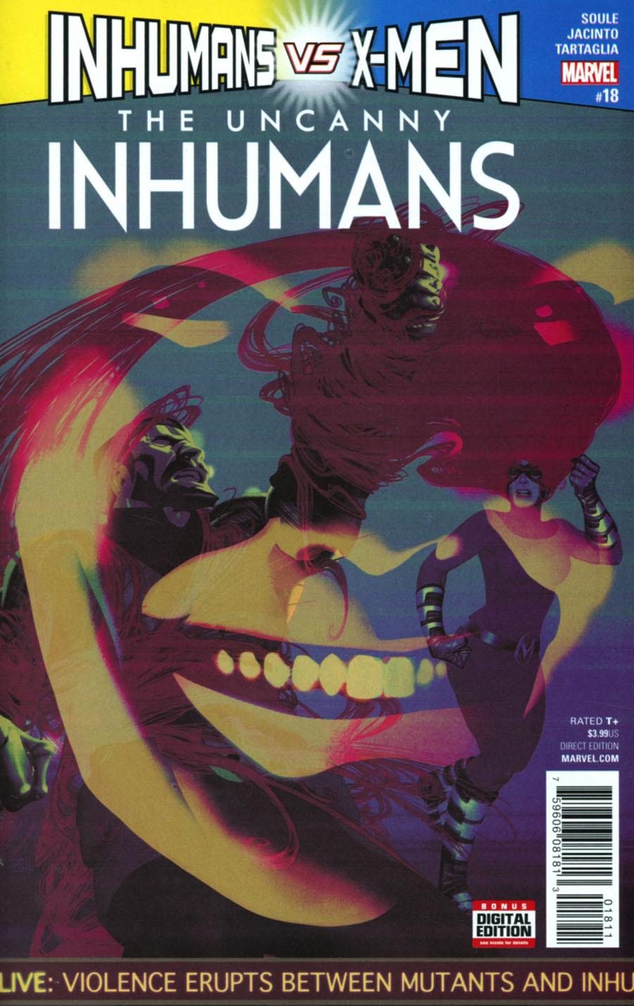 Uncanny Inhumans #18 Cover A Regular Frazer Irving Cover (Inhumans vs X-Men Tie-In)