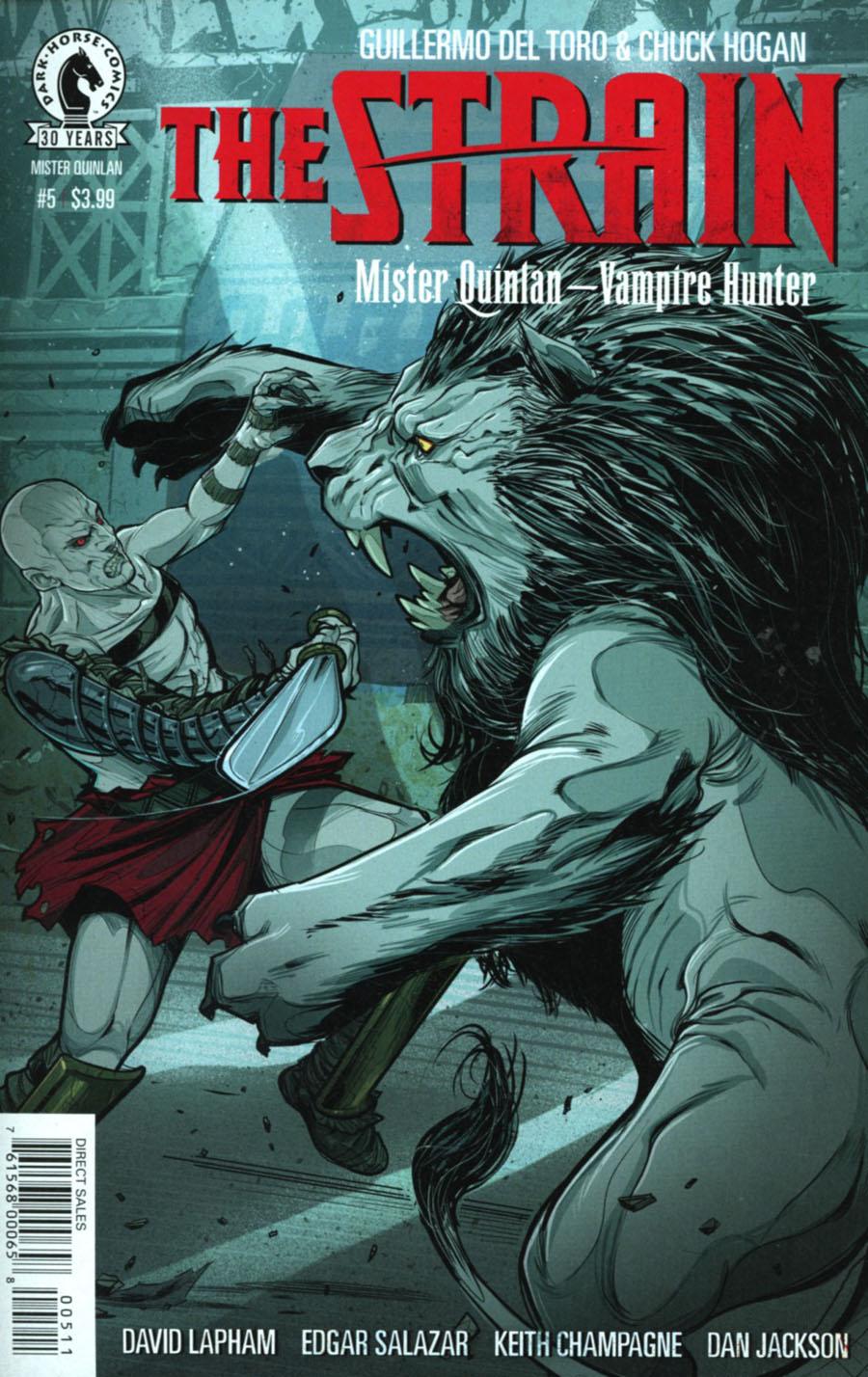 Strain Mr Quinlan Vampire Hunter #5
