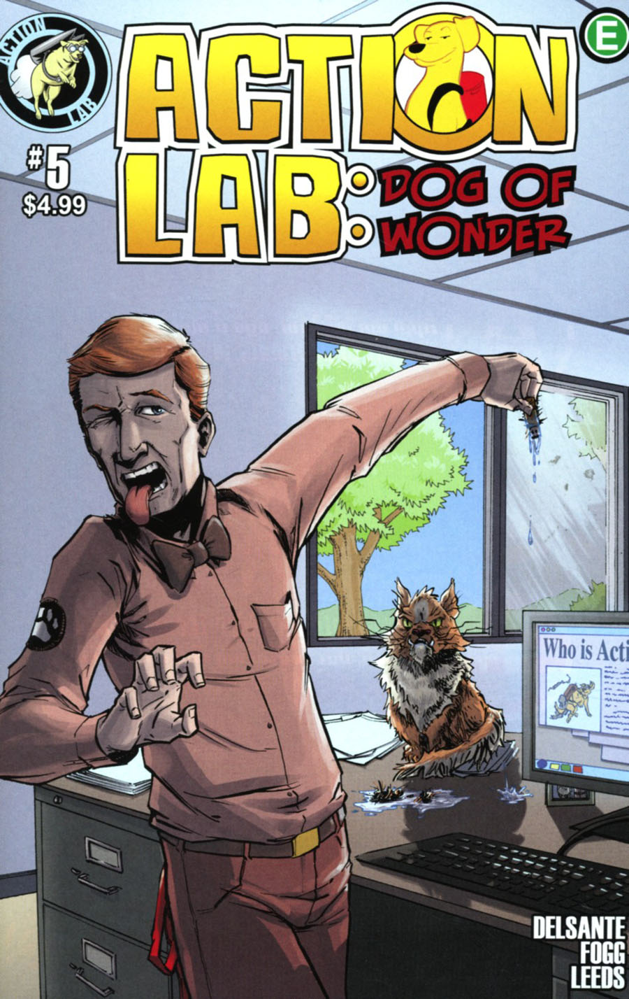 Action Lab Dog Of Wonder #5 Cover B Variant Jay Peteranetz Cover