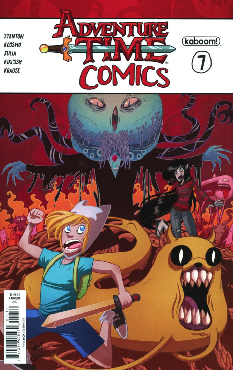 Adventure Time Comics #7 Cover A Regular Eva Cabrera Cover
