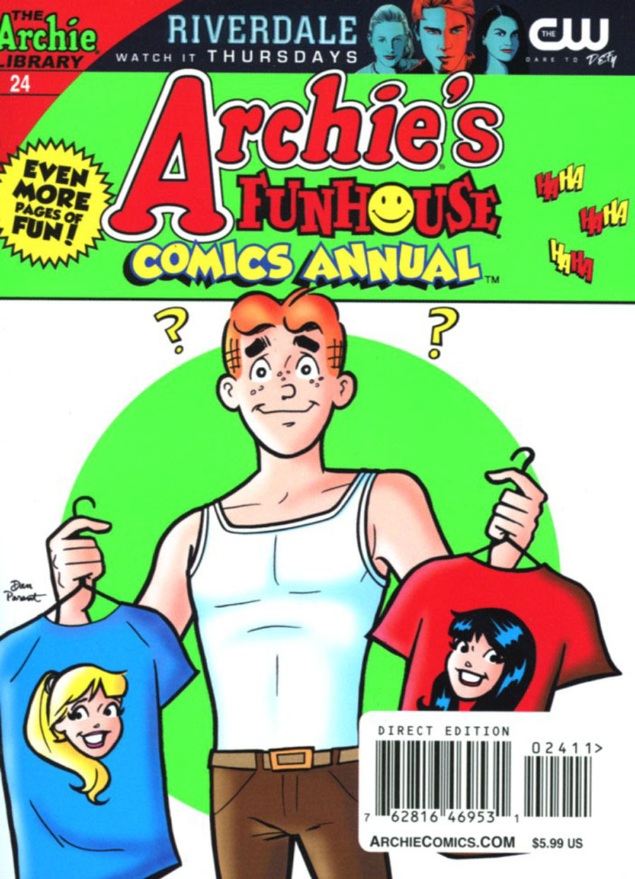 Archies Funhouse Comics Annual Digest #24