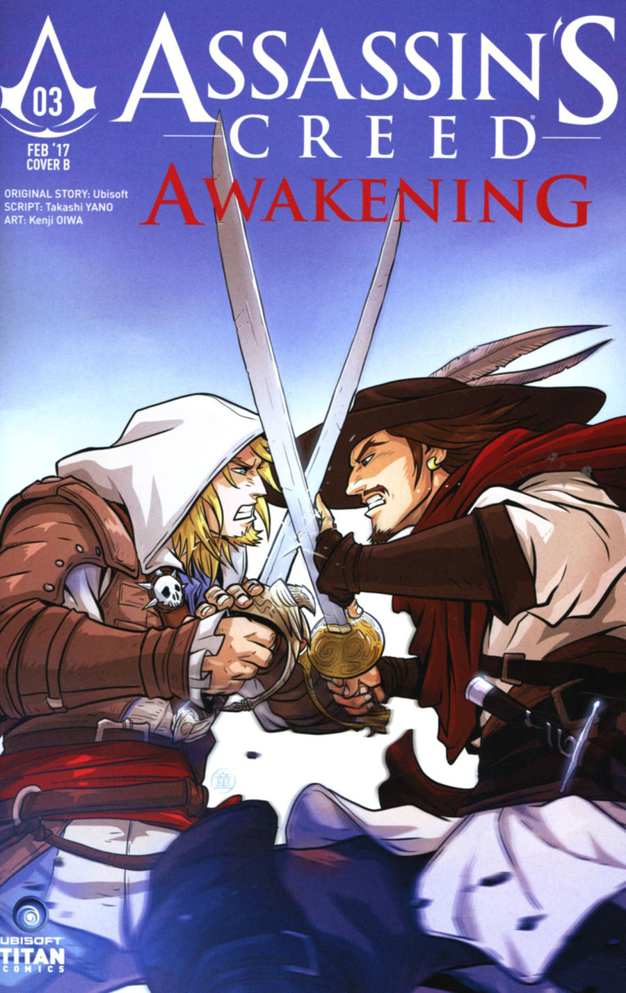 Assassins Creed Awakening #3 Cover B Variant Andie Tong Cover