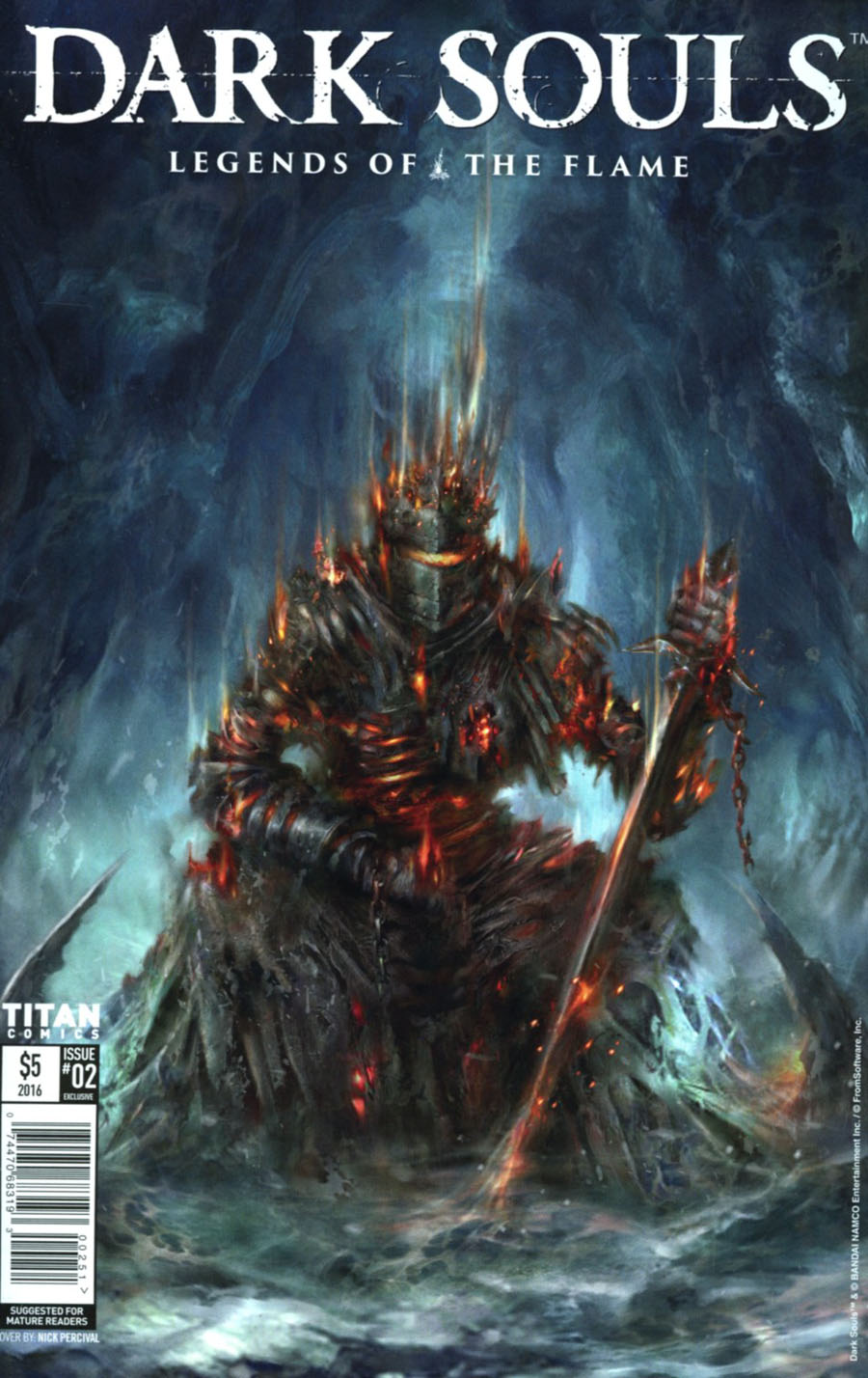 Dark Souls Winters Spite #2 Cover D NYCC Exclusive Nick Percival Variant Cover