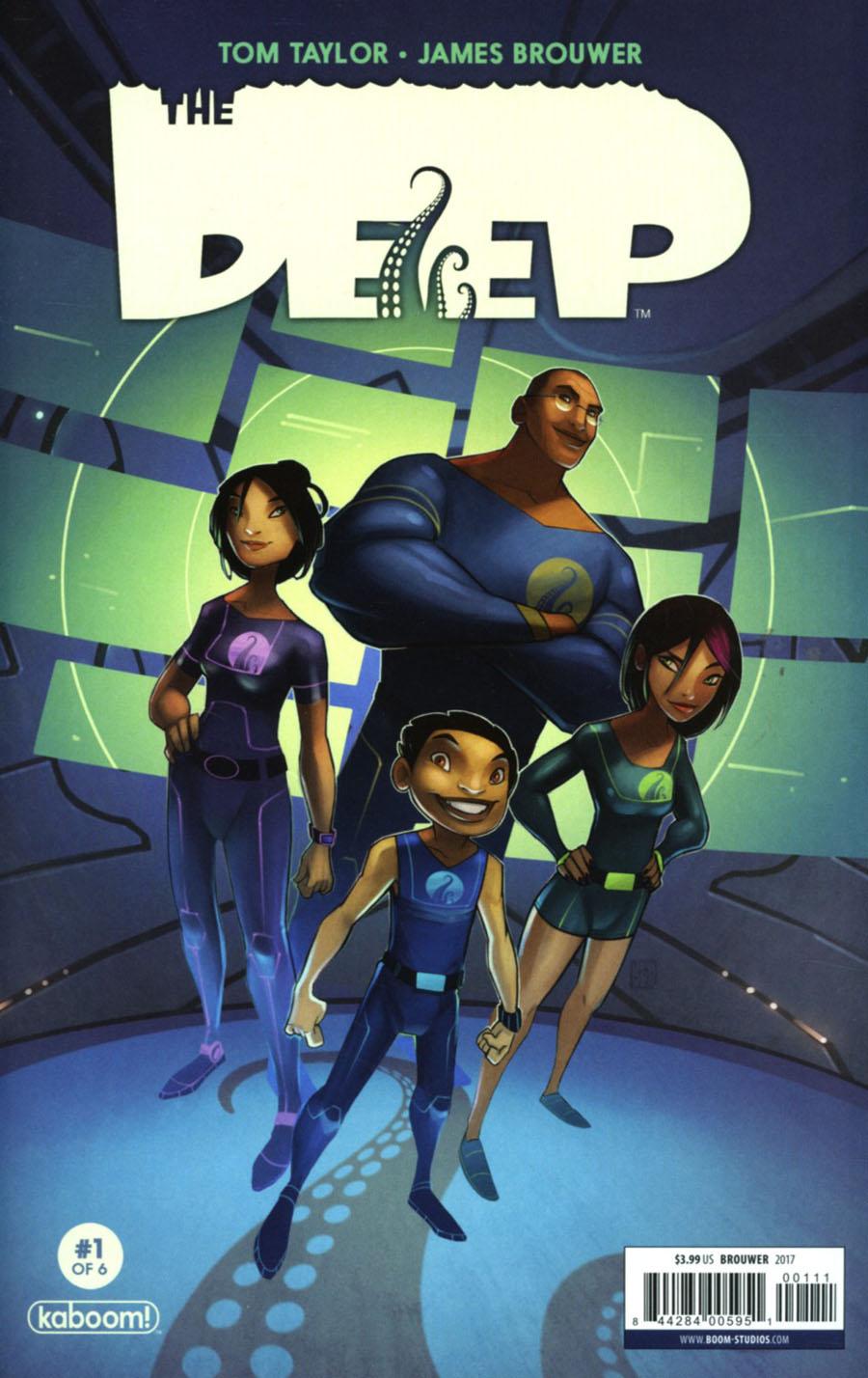 Deep #1 Cover A Regular James Brouwer Cover