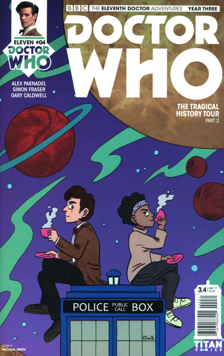 Doctor Who 11th Doctor Year Three #4 Cover C Variant Rachael Smith Cover