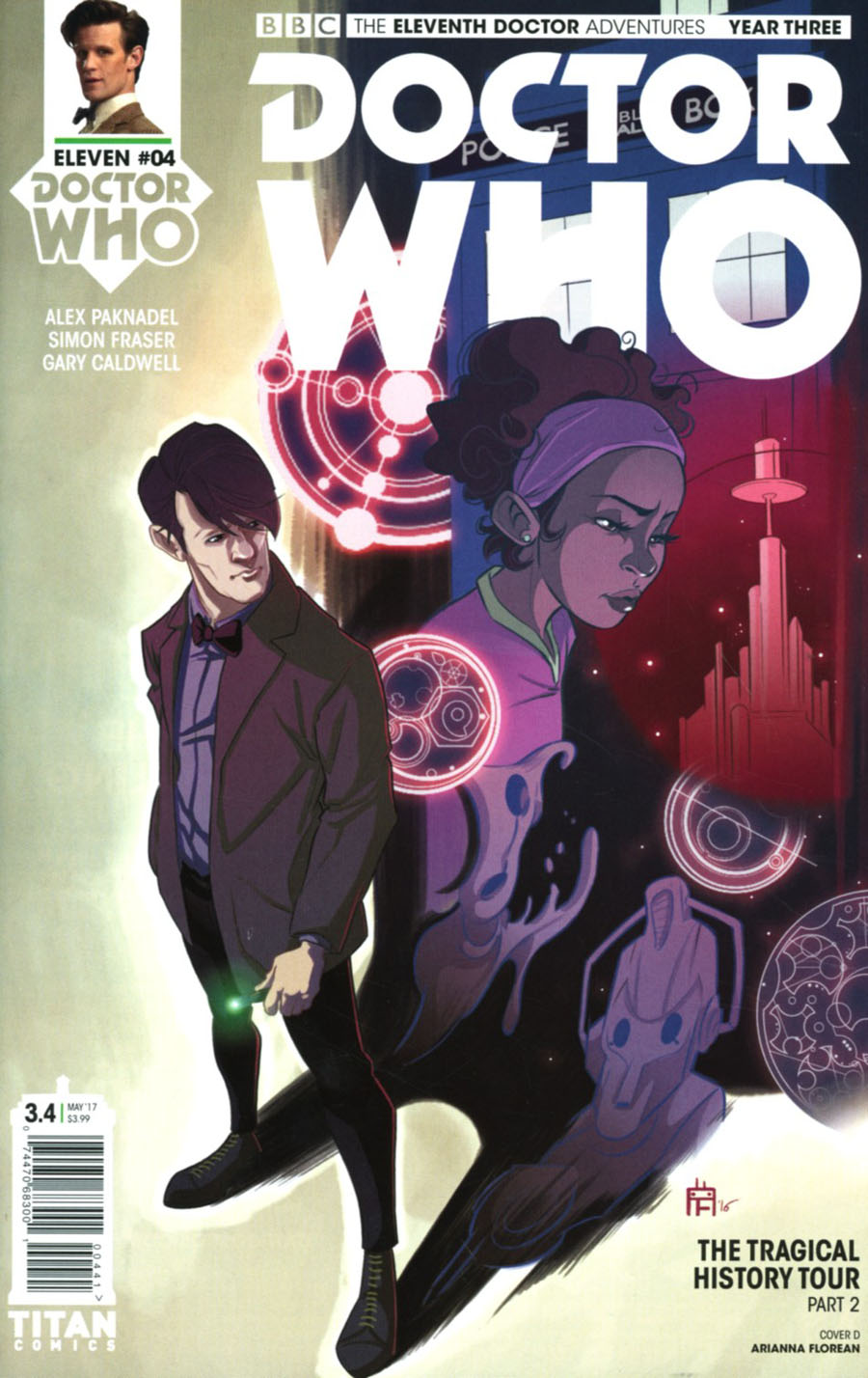 Doctor Who 11th Doctor Year Three #4 Cover D Variant Arianna Florean Cover