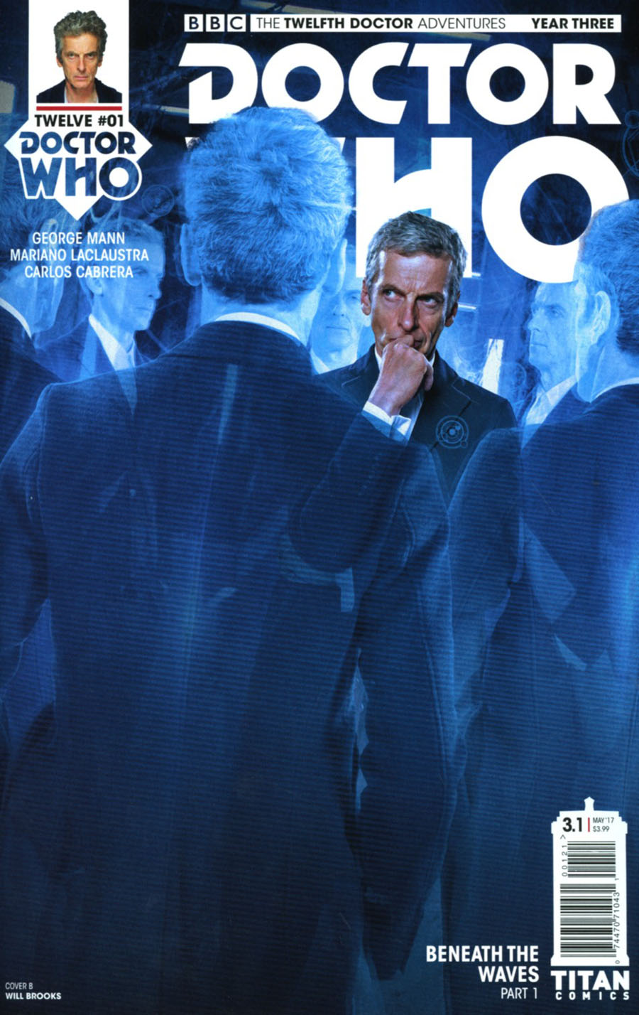 Doctor Who 12th Doctor Year Three #1 Cover B Variant Photo Cover