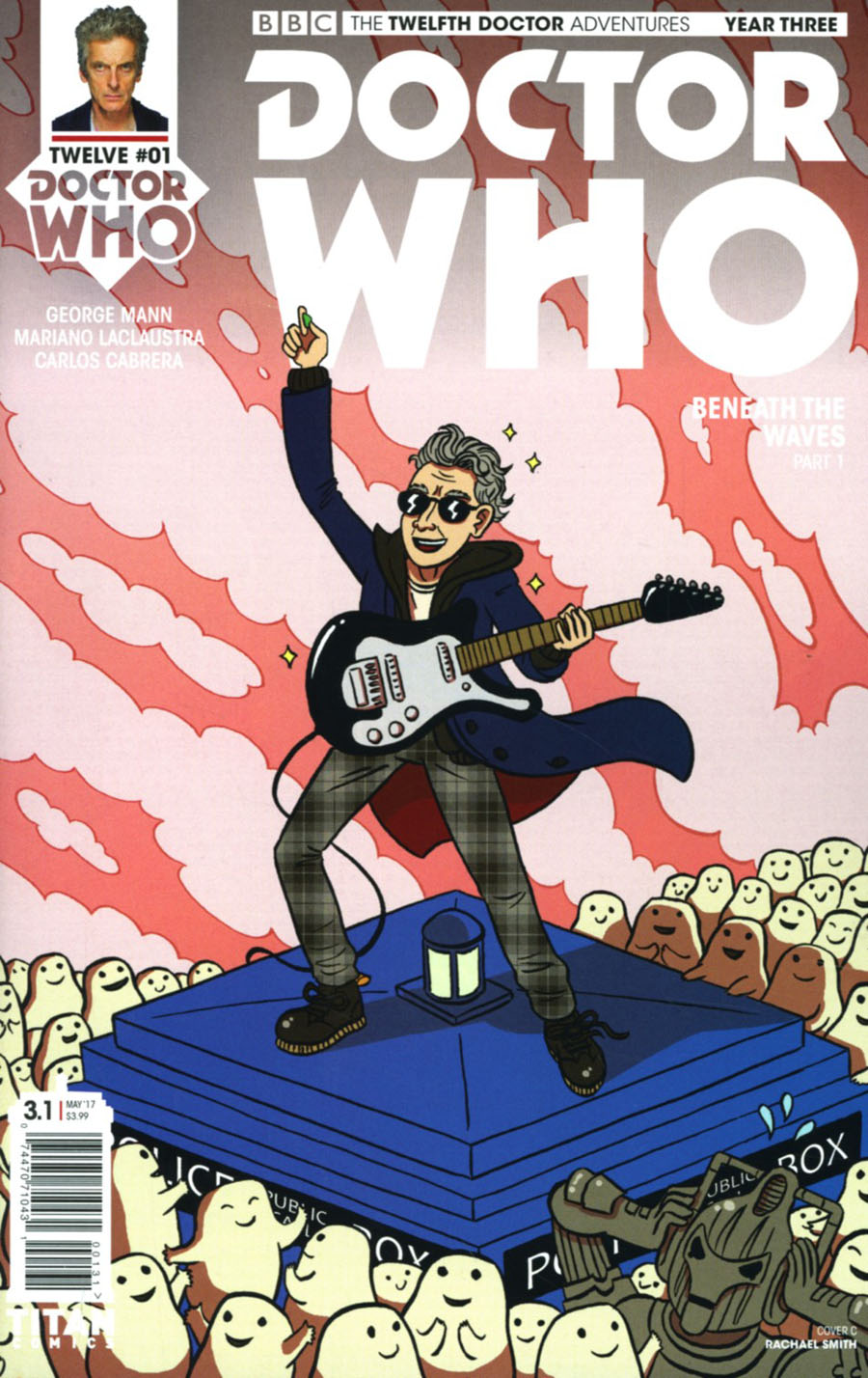 Doctor Who 12th Doctor Year Three #1 Cover C Variant Rachael Smith Cover