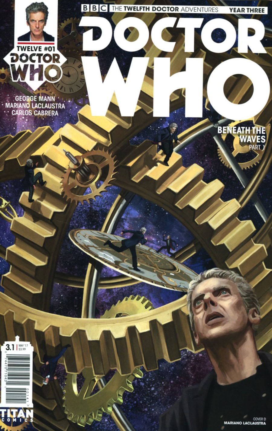 Doctor Who 12th Doctor Year Three #1 Cover D Variant Mariano Laclaustra Cover