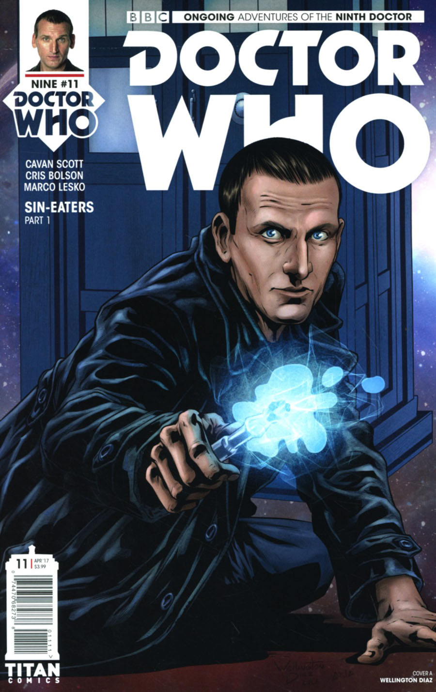 Doctor Who 9th Doctor Vol 2 #11 Cover A Regular Wellington Diaz Cover