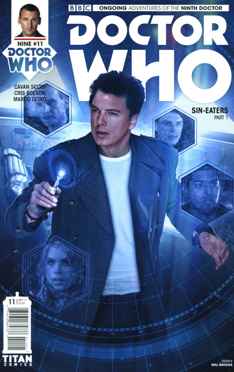 Doctor Who 9th Doctor Vol 2 #11 Cover B Variant Photo Cover