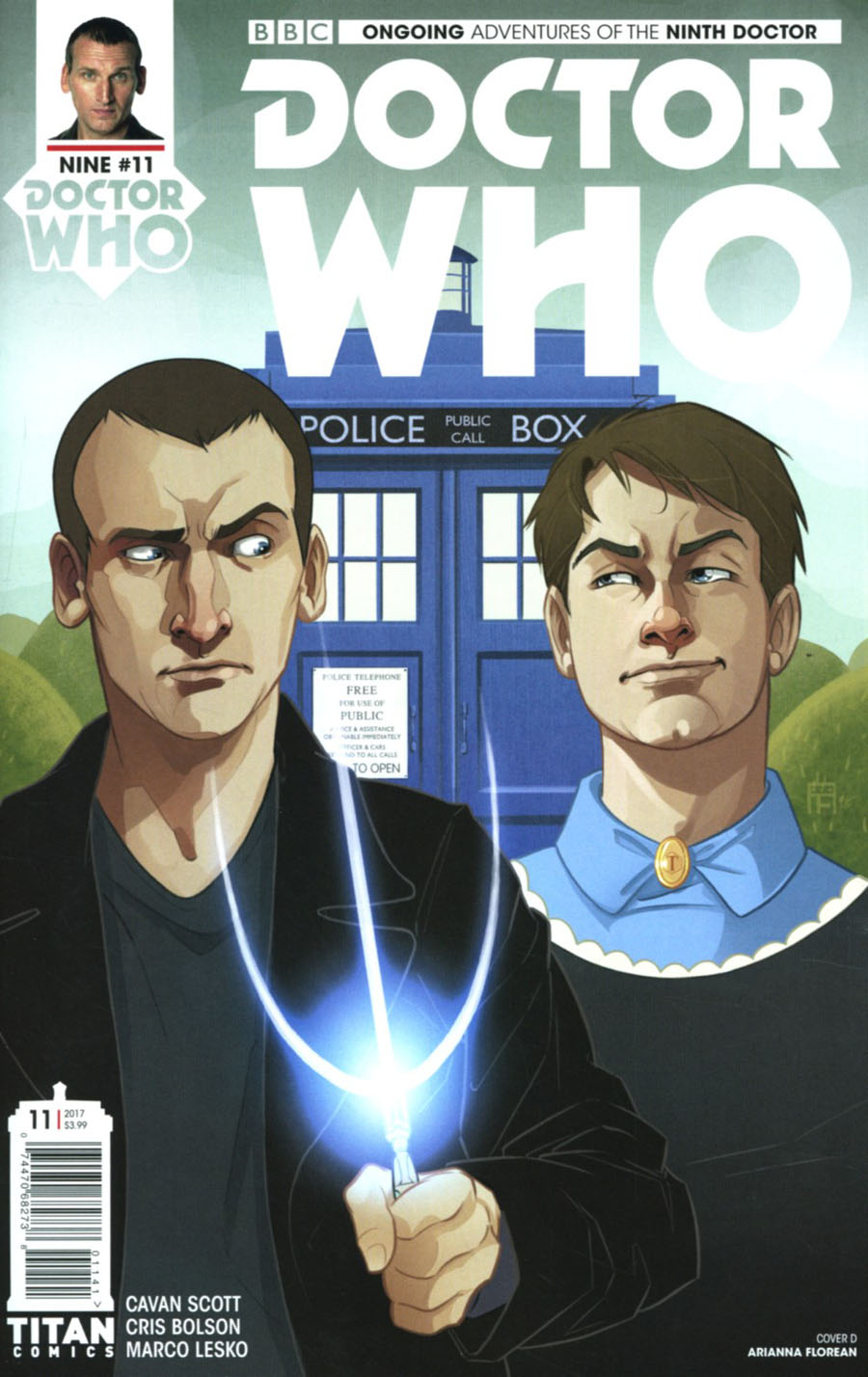 Doctor Who 9th Doctor Vol 2 #11 Cover D Variant Arianna Florean Cover