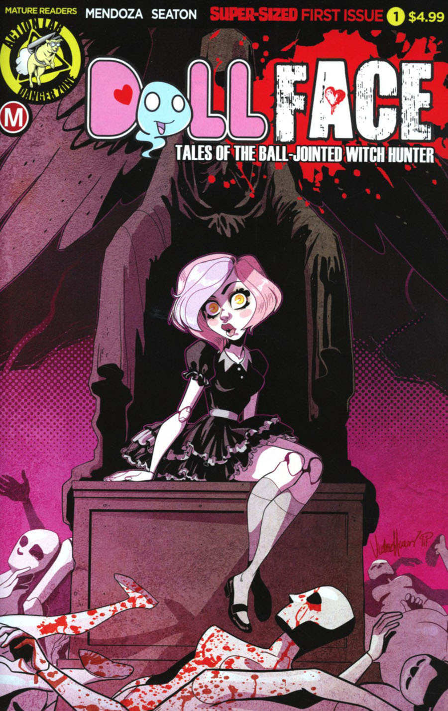 Dollface #1 Cover D Variant Victoria Harris Cover