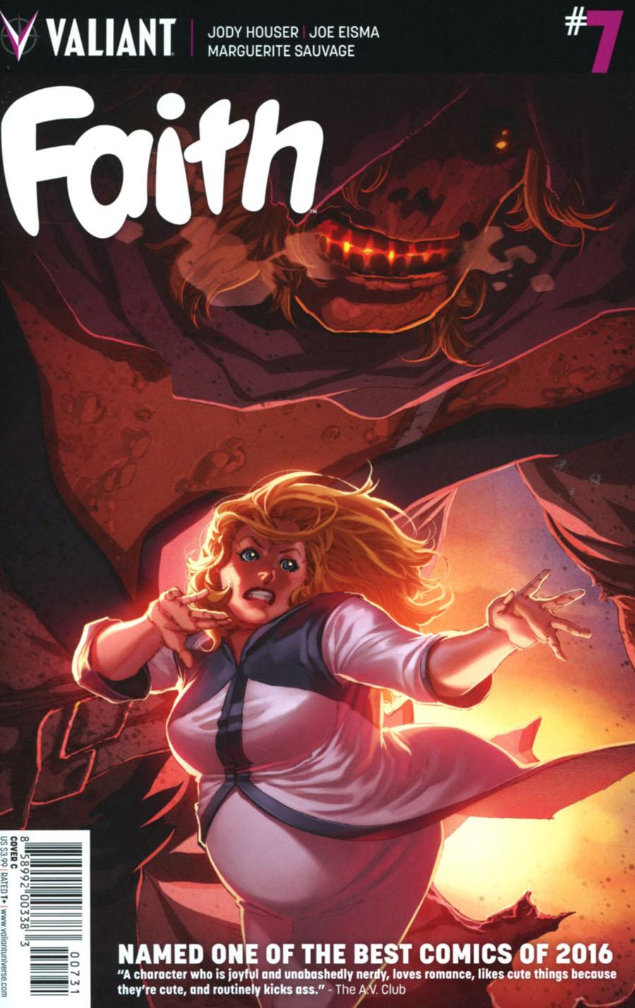 Faith (Valiant Entertainment) Vol 2 #7 Cover C Variant Philip Tan Cover