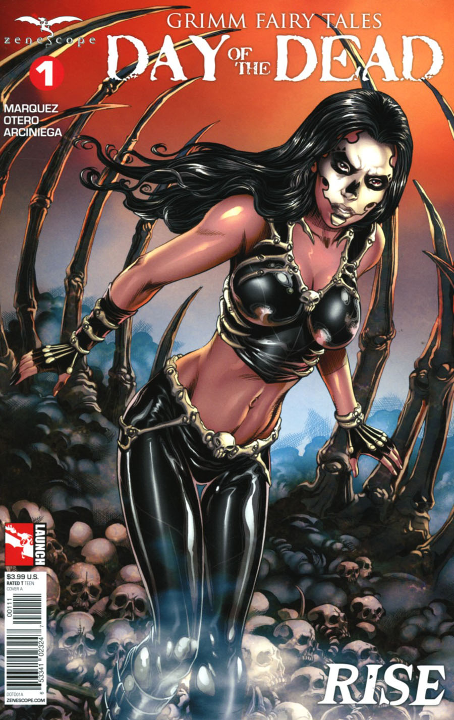 Grimm Fairy Tales Presents Day Of The Dead #1 Cover A Allan Otero