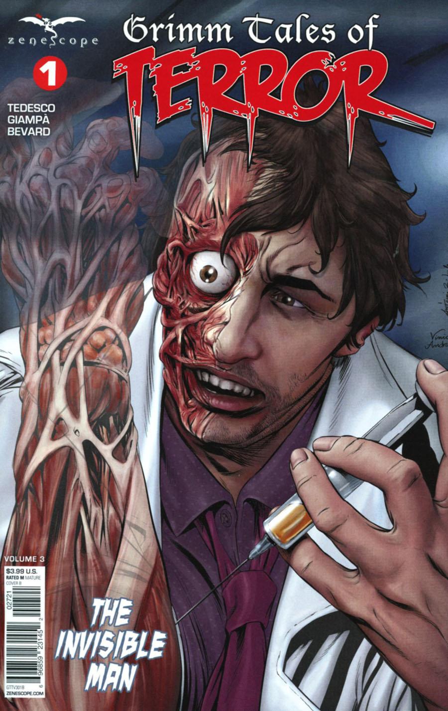 Grimm Fairy Tales Presents Grimm Tales Of Terror Vol 3 #1 Cover B Antonio Bifulco