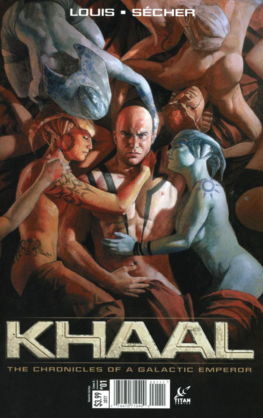 Khaal #1 Cover A Regular Valentin Secher Cover