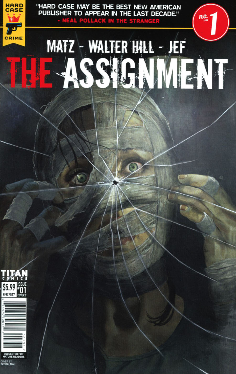 Hard Case Crime Assignment #1 Cover C Variant Fay Dalton Cover