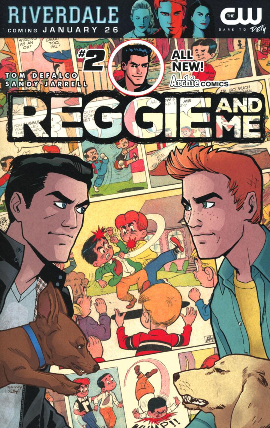 Reggie And Me Vol 2 #2 Cover A Regular Sandy Jarrell Cover