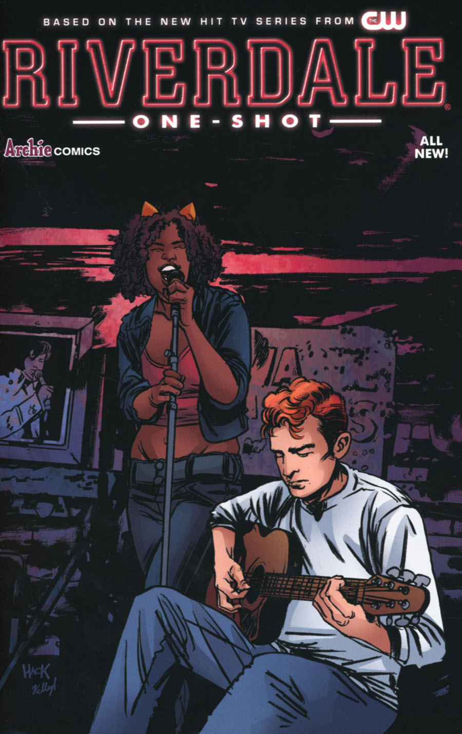 Riverdale One Shot Cover D Variant Robert Hack Cover