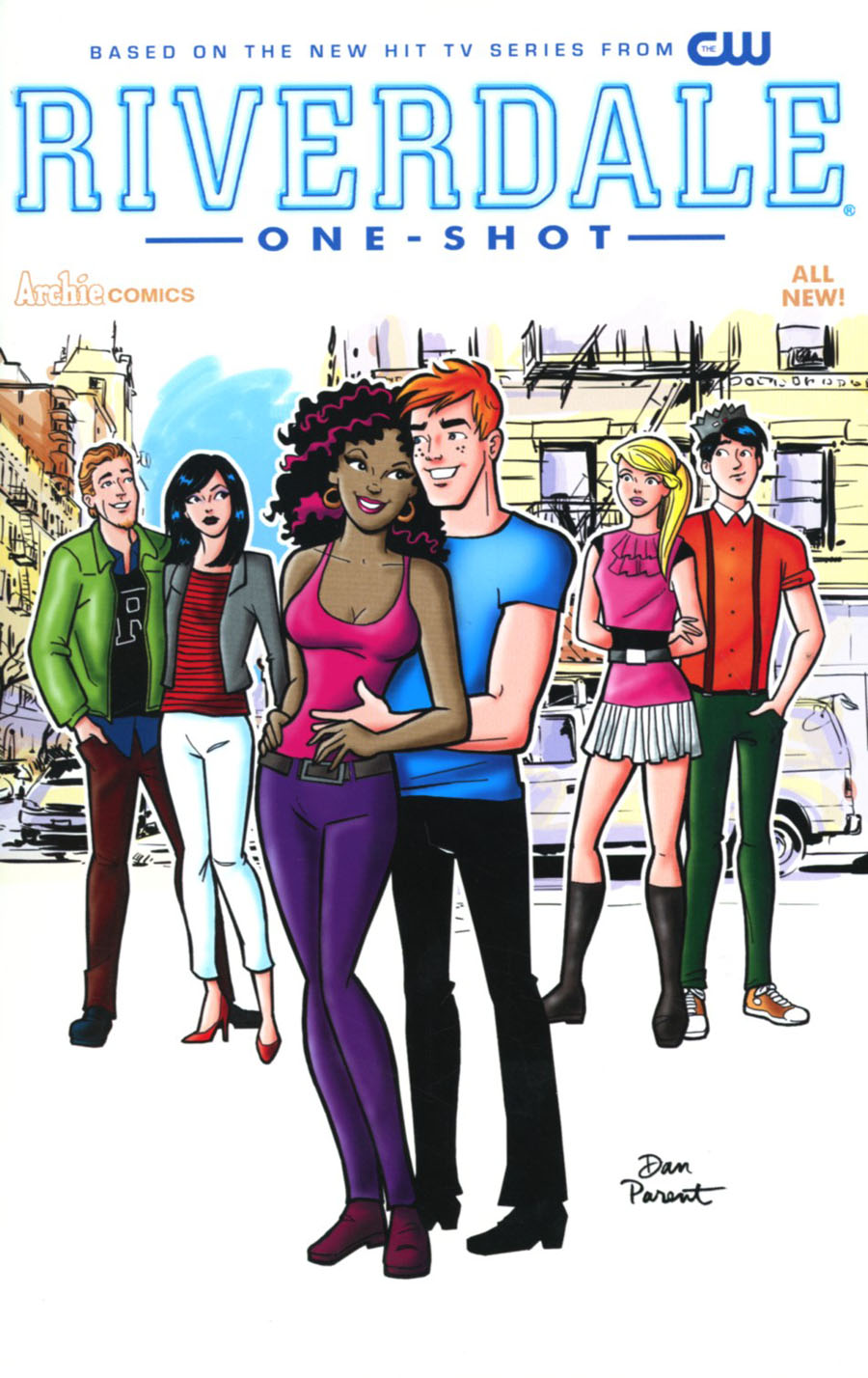 Riverdale One Shot Cover G Variant Dan Parent Cover