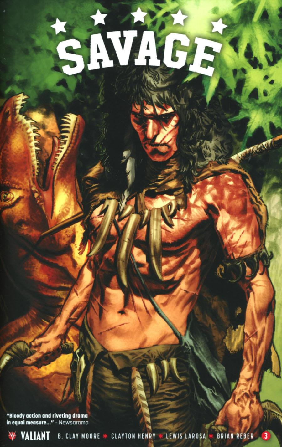 Savage #3 Cover A 1st Ptg Regular Lewis Larosa Cover