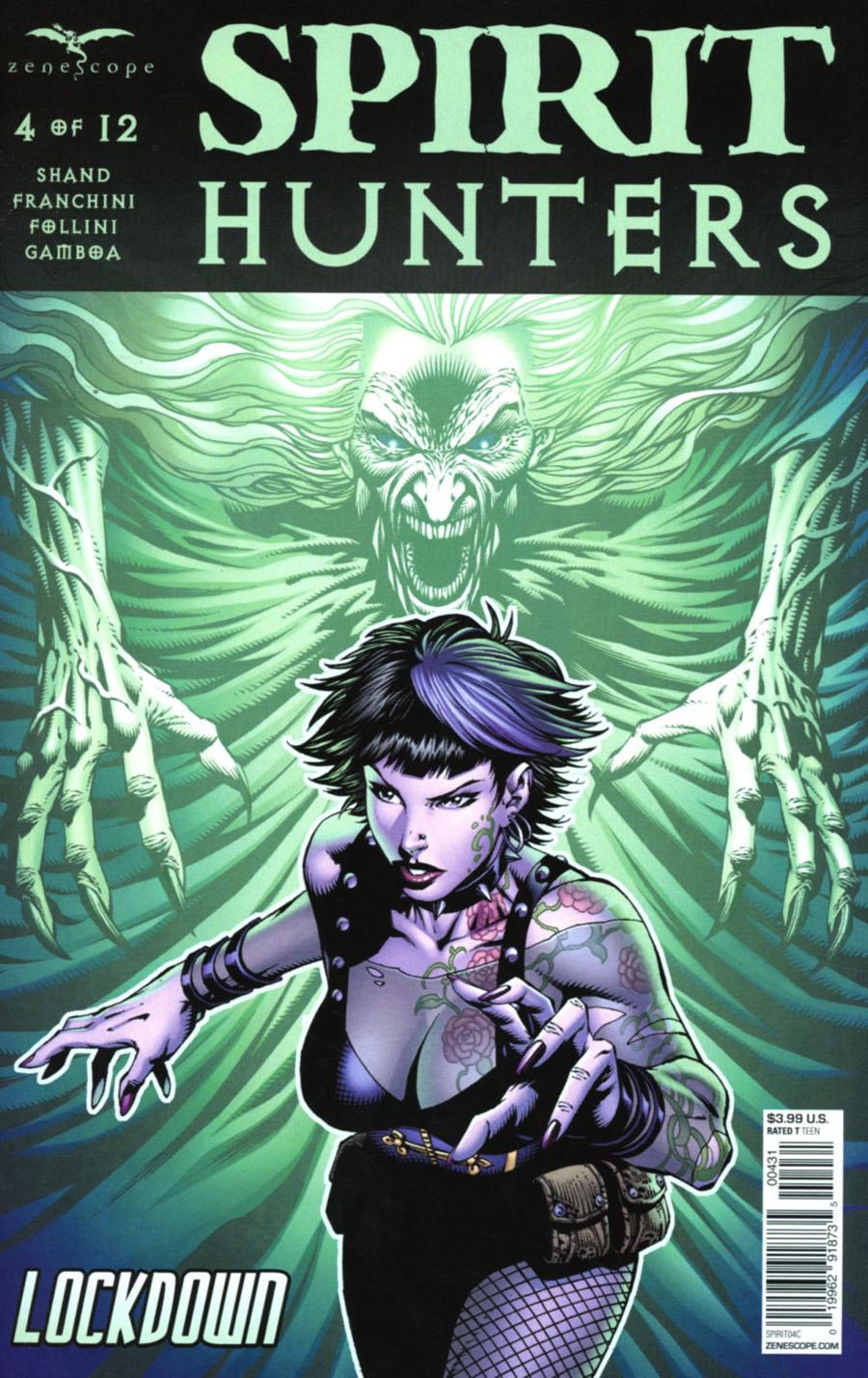 Spirit Hunters #4 Cover C Renato Rei