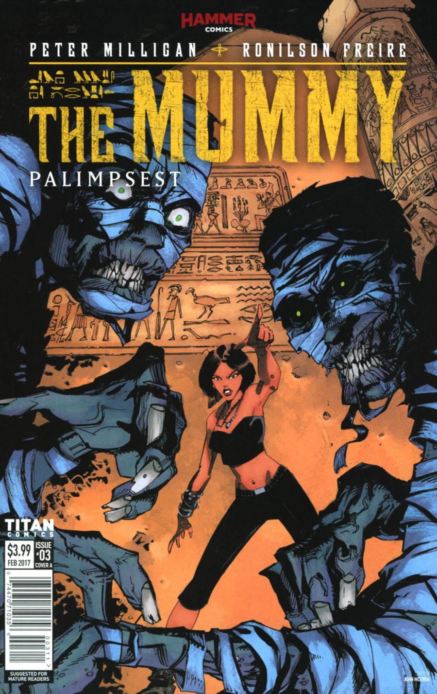 Mummy #3 Cover A Regular John McCrea Cover