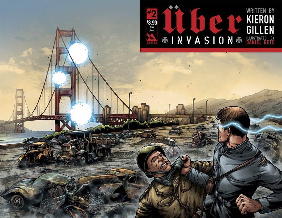 Uber Invasion #2 Cover B Wraparound Cover