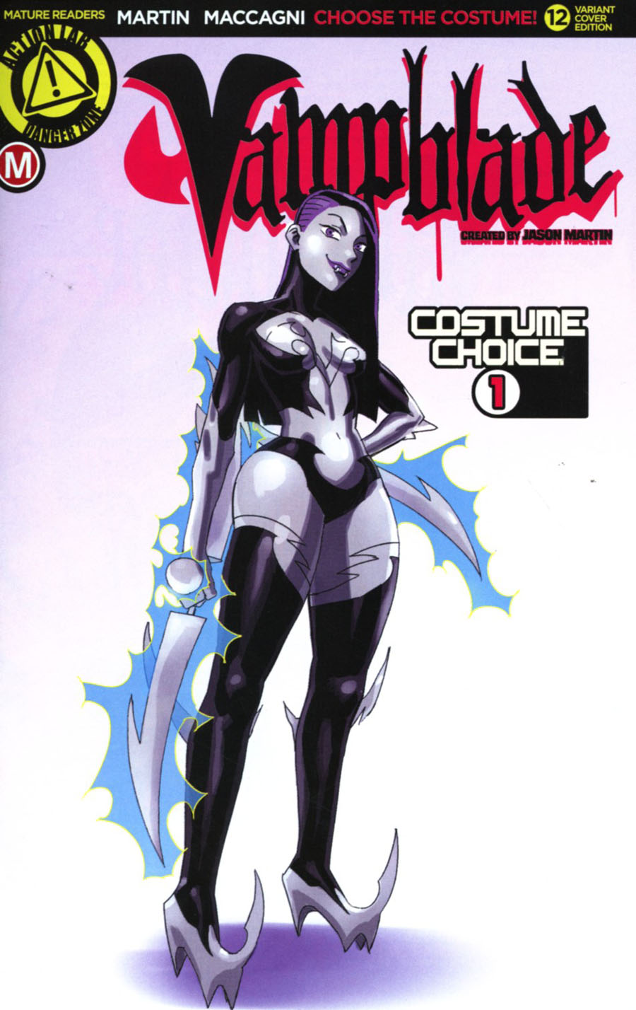 Vampblade #12 Cover C Variant Costume Choice 1 Cover