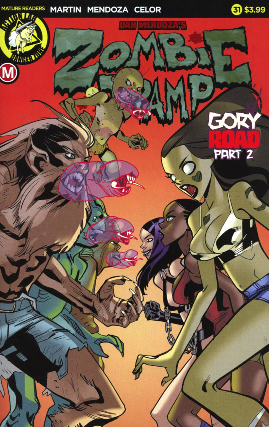 Zombie Tramp Vol 2 #31 Cover A Regular Celor Cover