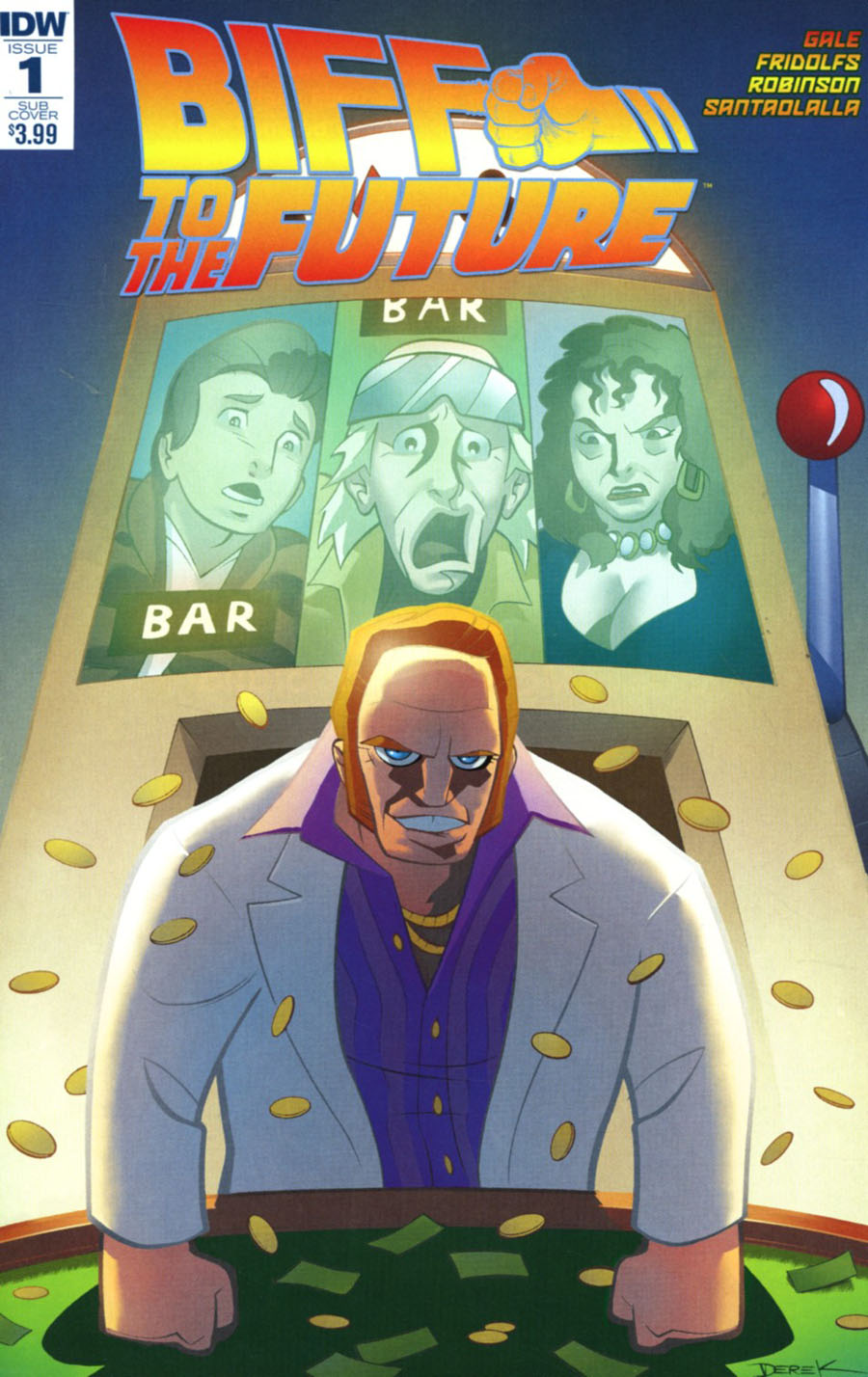 Back To The Future Biff To The Future #1 Cover B Variant Derek Fridolfs Subscription Cover