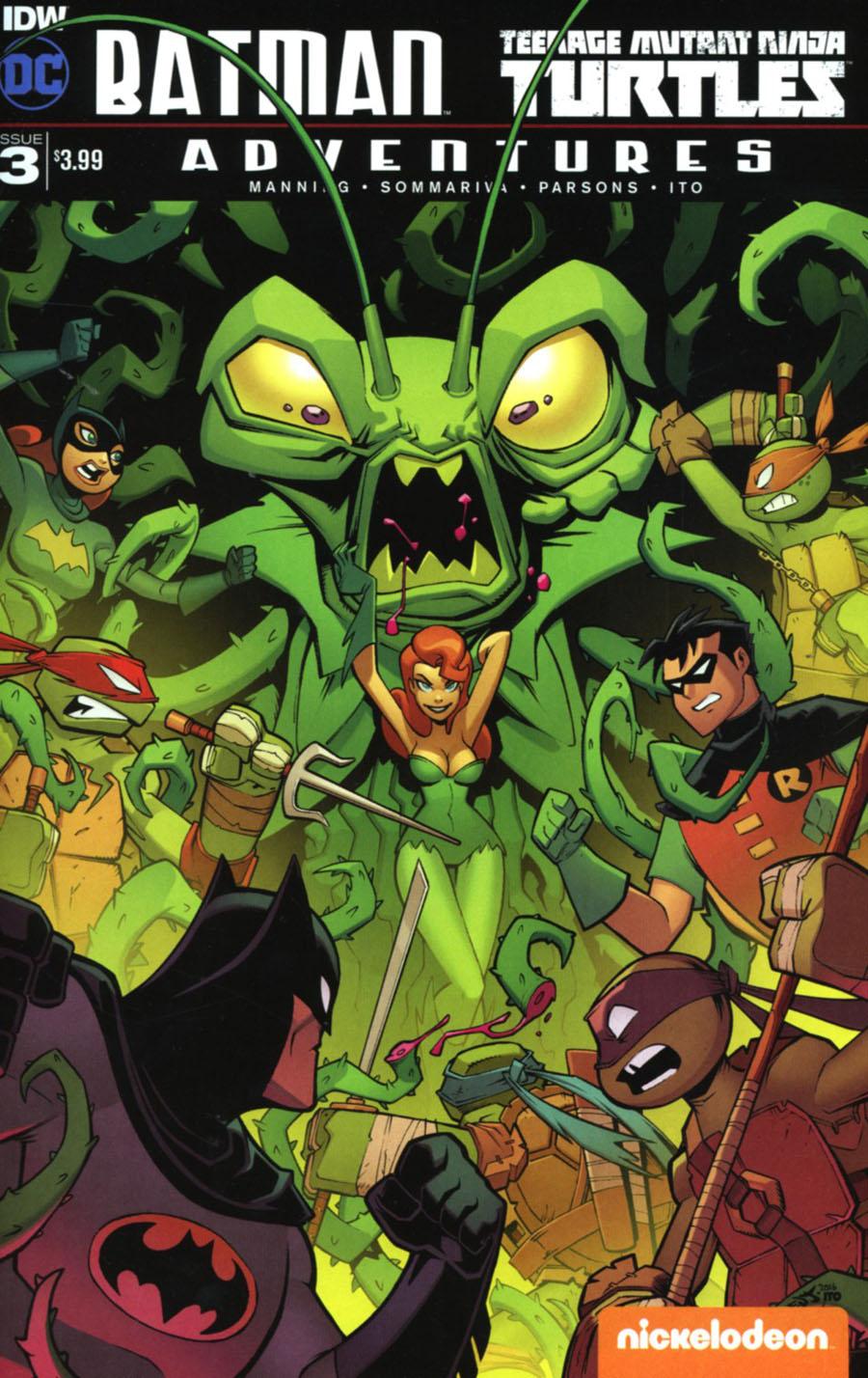 Batman Teenage Mutant Ninja Turtles Adventures #3 Cover A Regular Jon Sommariva Cover