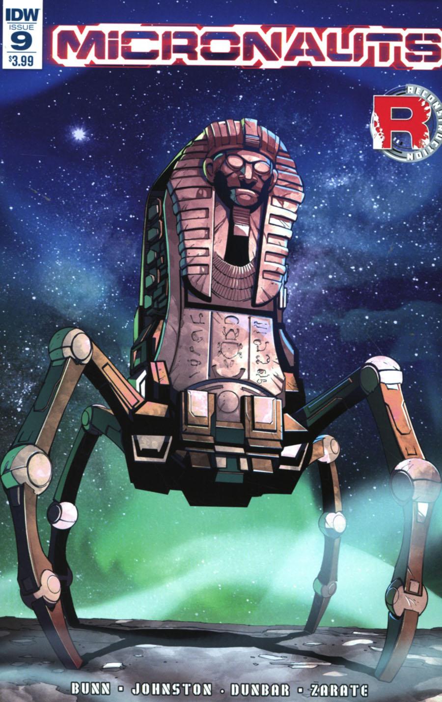 Micronauts Vol 5 #9 Cover A Regular Max Dunbar Cover