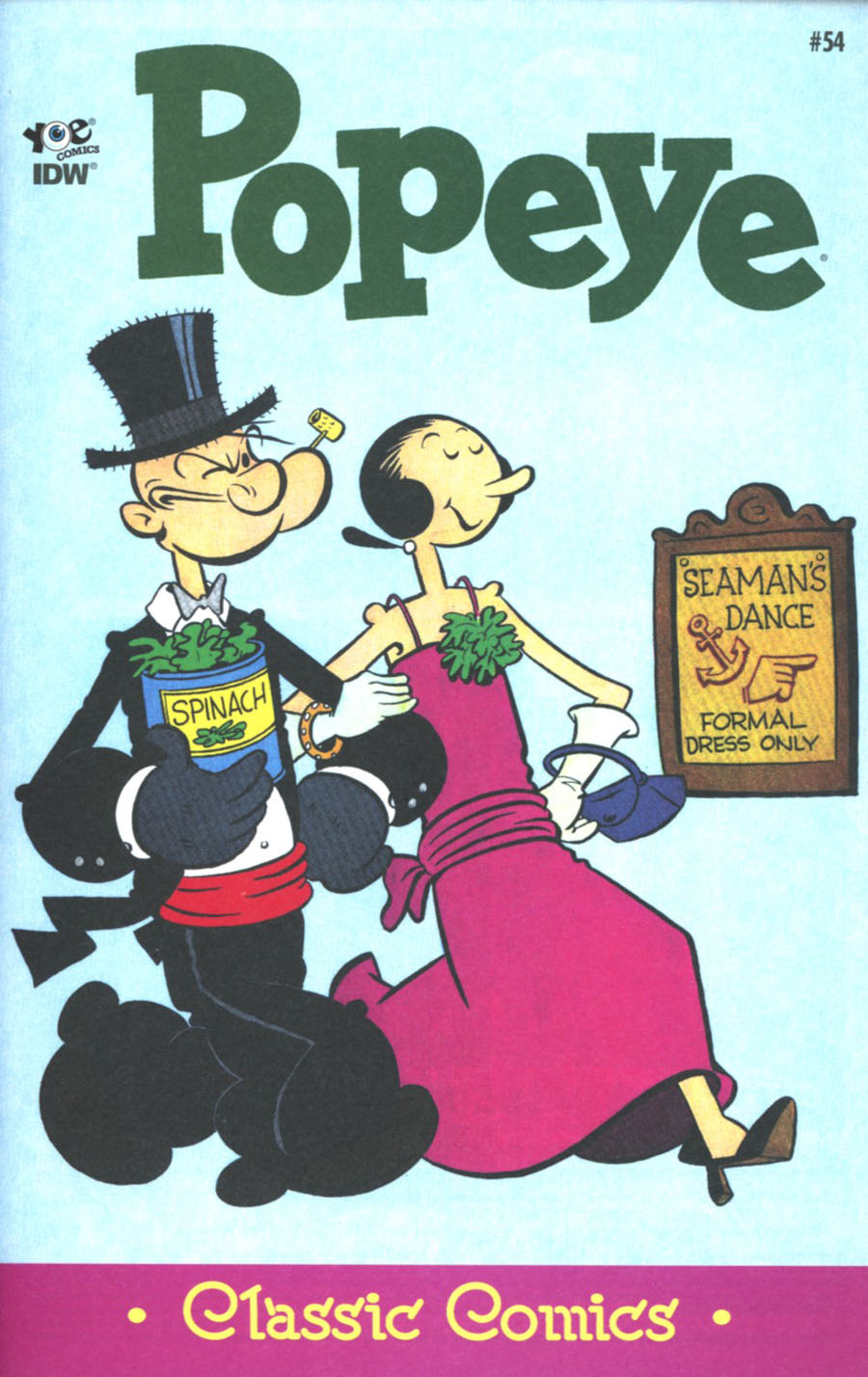 Classic Popeye #54 Cover A Regular Bud Sagendorf Cover